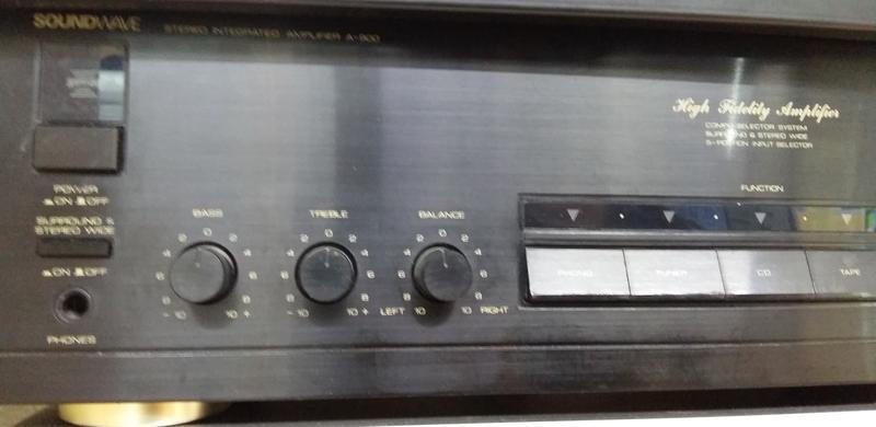 Підсилювач Soundwave A-900.