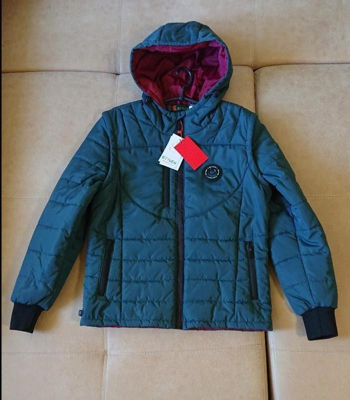 Куртка подростковая демисезонная на мальчика