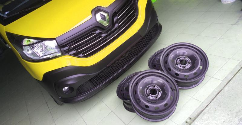 Оригинал диск R16C для Renault Trafic III Opel Vivaro 3 2014-2019