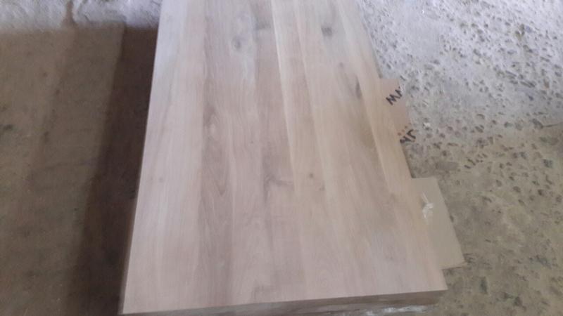 Мебельный щит дубовый 20-40мм, доставка по Украине