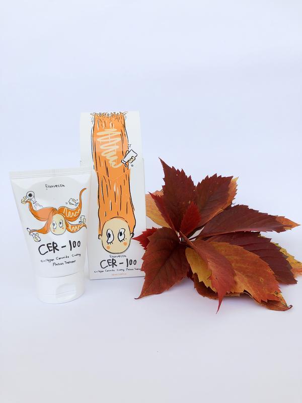 Маска для волос elizavecca milky piggy collagen ceramide coating