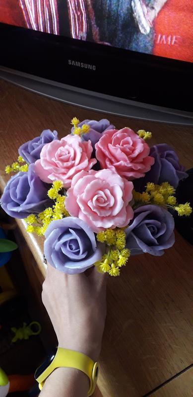 Квіти з мила - Фото 5