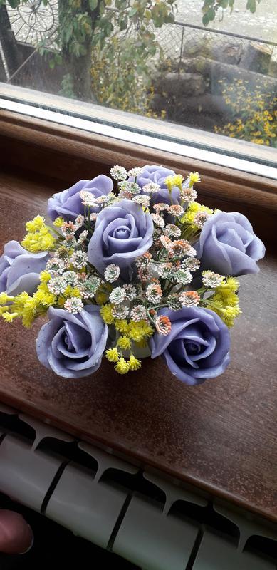 Квіти з мила - Фото 6