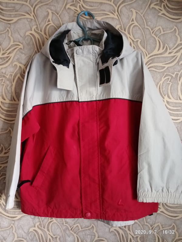 Хорошая куртка/ ветровка для мальчика h&m на 5/6 лет/ рост  11...