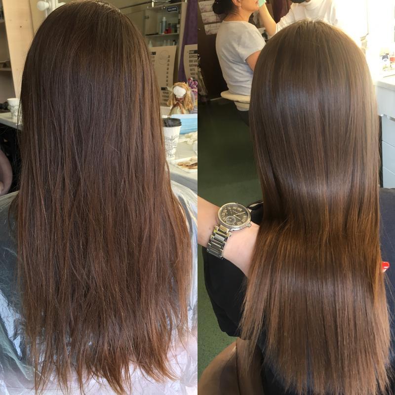 Уходовые процедуры для волос(ботокс, кератин, керапластика)
