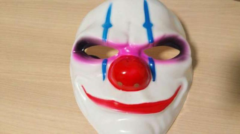 Маска клоун ужас для / на хэллоуин helloween хеллоуин маскарад