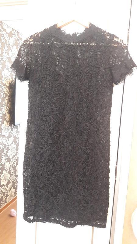 Платье кружевное zara