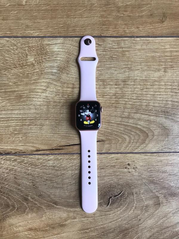 Apple Watch 4 series 40mm rose gold - Фото 2