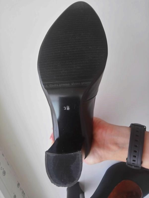 Шкіряні туфлі лодочки нові - Фото 5