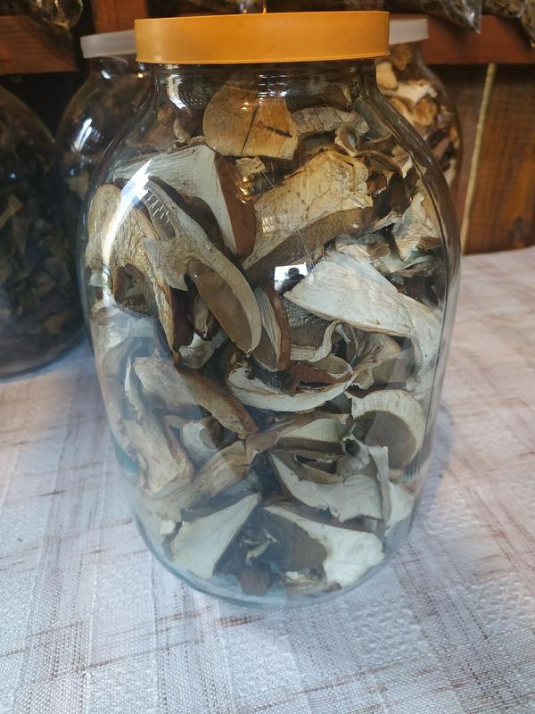 Закарпатські сушені грибочки