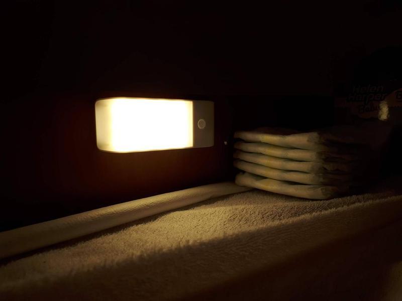 Светодиодный светильник, USB-заряд, датчик движения/освещения, ма - Фото 5