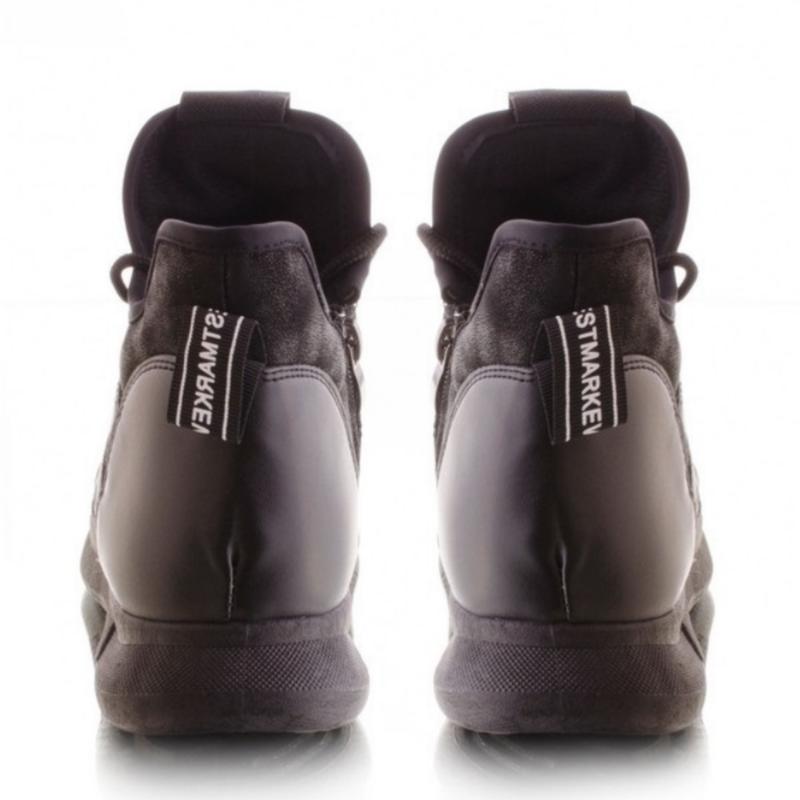 Женские ботинки в спортивном стиле - Фото 3