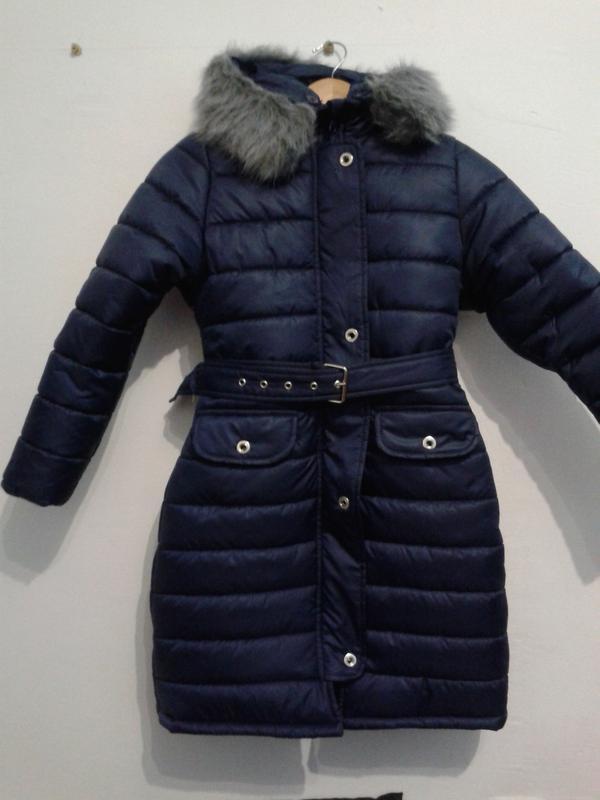 Детское утепленной пальто