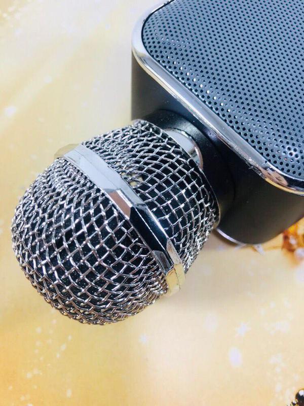 Микрофон Bluetooth караоке беспроводной WS 1818 - Фото 3