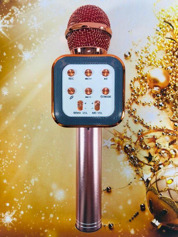 Микрофон Bluetooth караоке беспроводной WS 1818