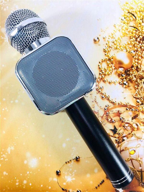 Микрофон Bluetooth караоке беспроводной WS 1818 - Фото 7