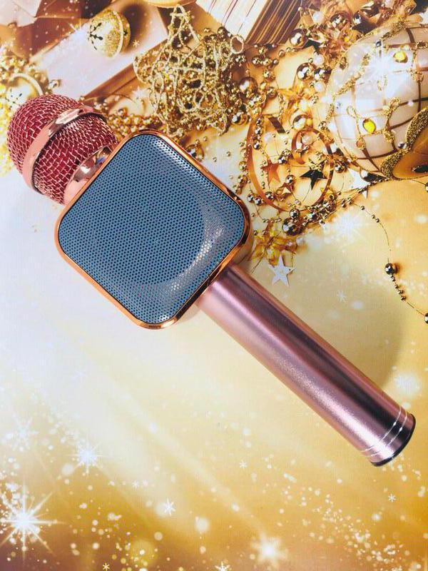 Микрофон Bluetooth караоке беспроводной WS 1818 - Фото 5