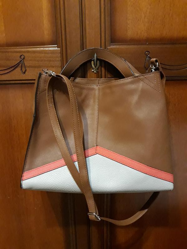 Фирменная оригинальная кожаная#шкіряна сумка#кроссбоди,100% на...