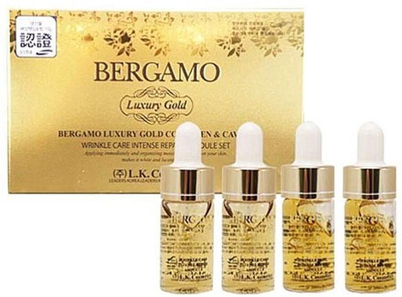 Восстанавливающая золотая сыворотка с икрой bergamo luxury gol... - Фото 2