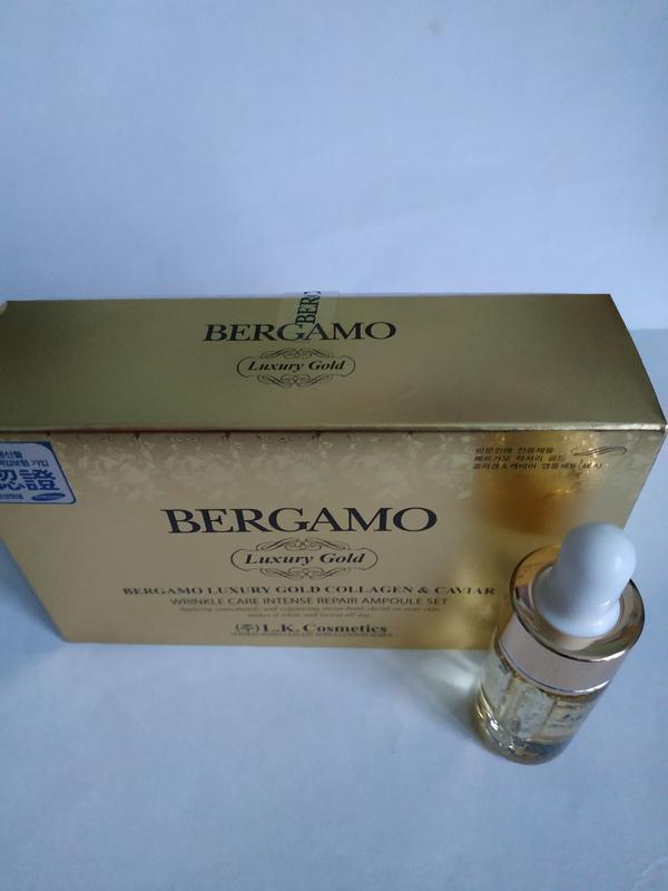 Восстанавливающая золотая сыворотка с икрой bergamo luxury gol... - Фото 3