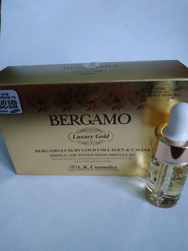 Восстанавливающая золотая сыворотка с икрой bergamo luxury gol... - Фото 4