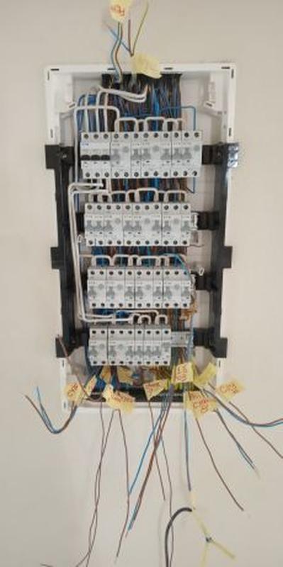 Монтаж электропроводки в квартире, доме, офисе и т.п.