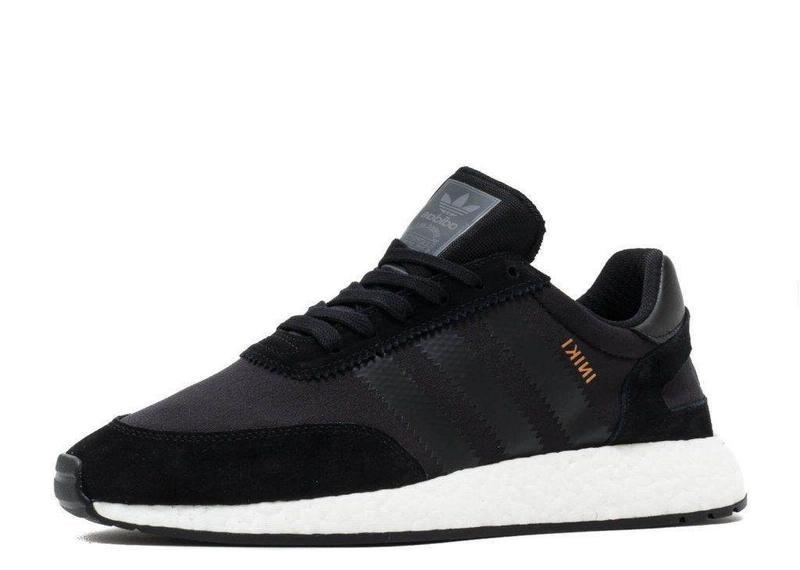 Мужские кроссовки Adidas Iniki Runner Black