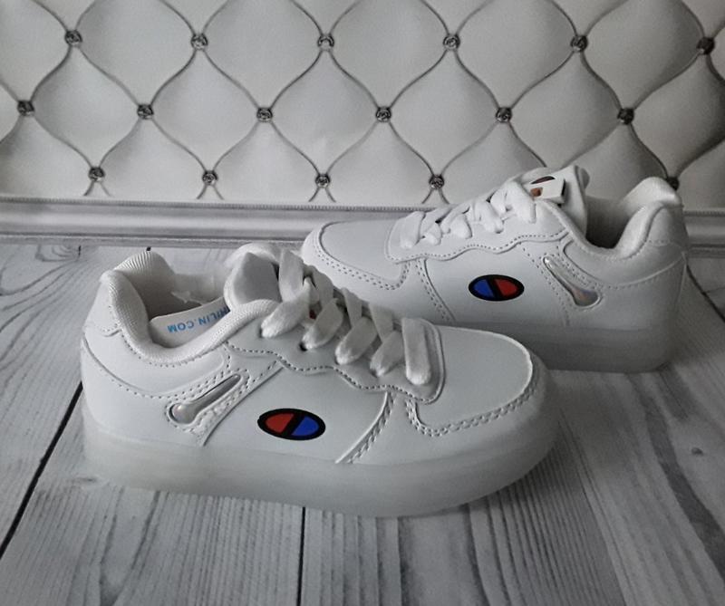 Led кроссовки, светящиеся кроссовки - Фото 5