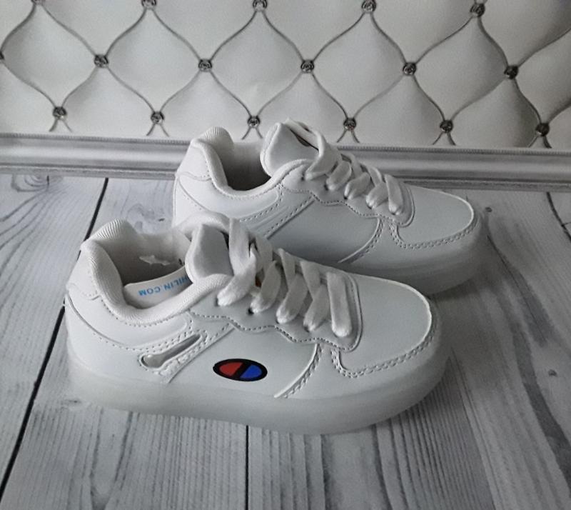 Led кроссовки, светящиеся кроссовки - Фото 6