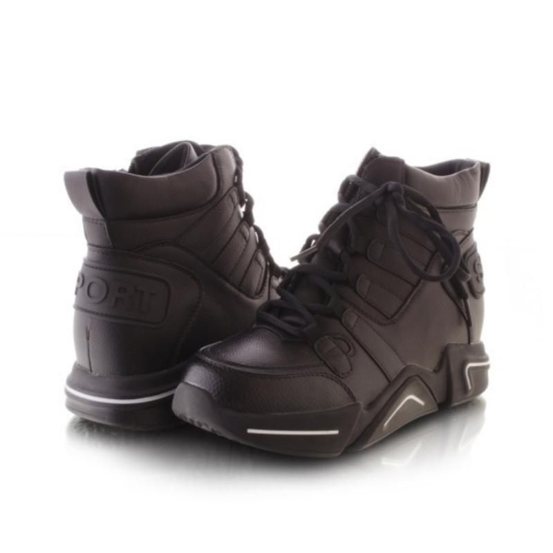 Женские ботинки чёрного цвета - Фото 2