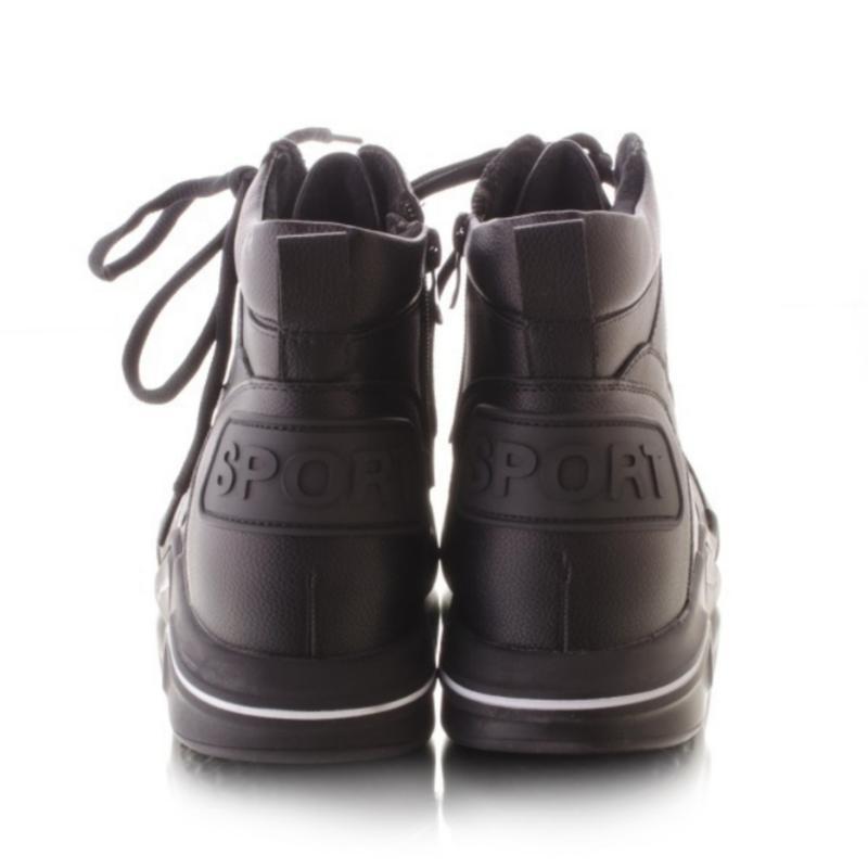 Женские ботинки чёрного цвета - Фото 3