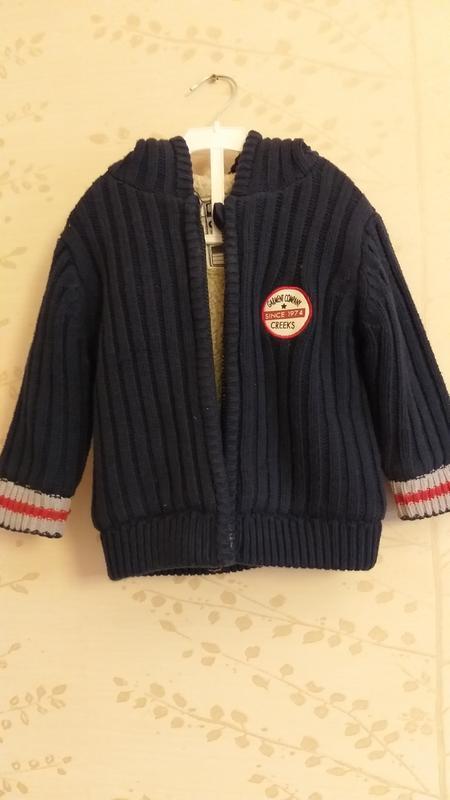 Вязаная курточка на меху creeks