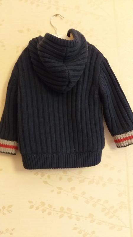 Вязаная курточка на меху creeks - Фото 2