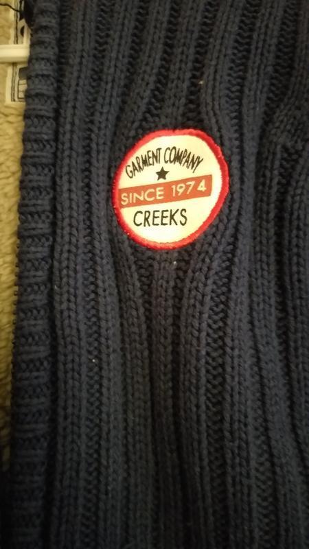 Вязаная курточка на меху creeks - Фото 3
