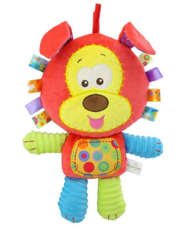 Игрушка-Подушка Для Малышей Happy Monkey - Собачка