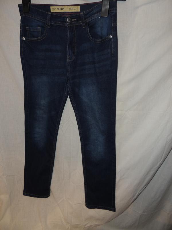 Стрейчивые джинсы скини denim co 146 на 10-11 лет