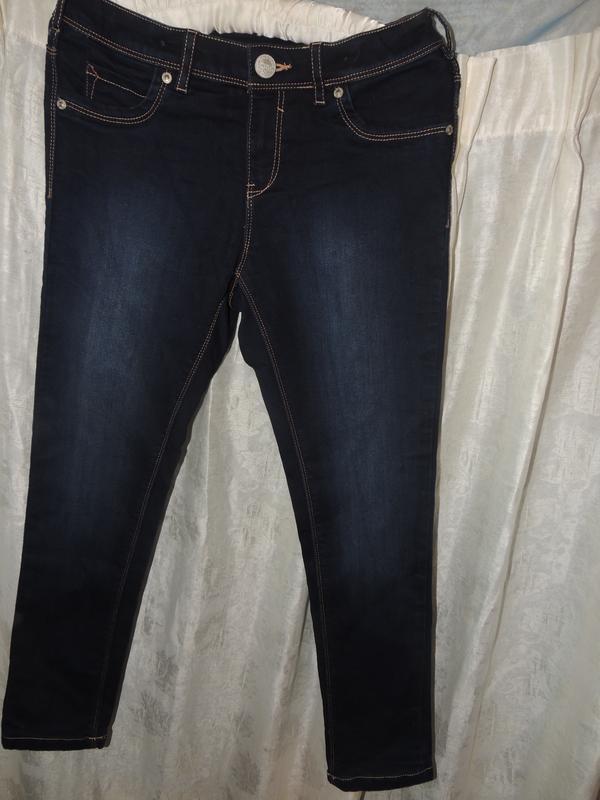Cтильные теплые качественные джинсы-скини here +there на девоч...