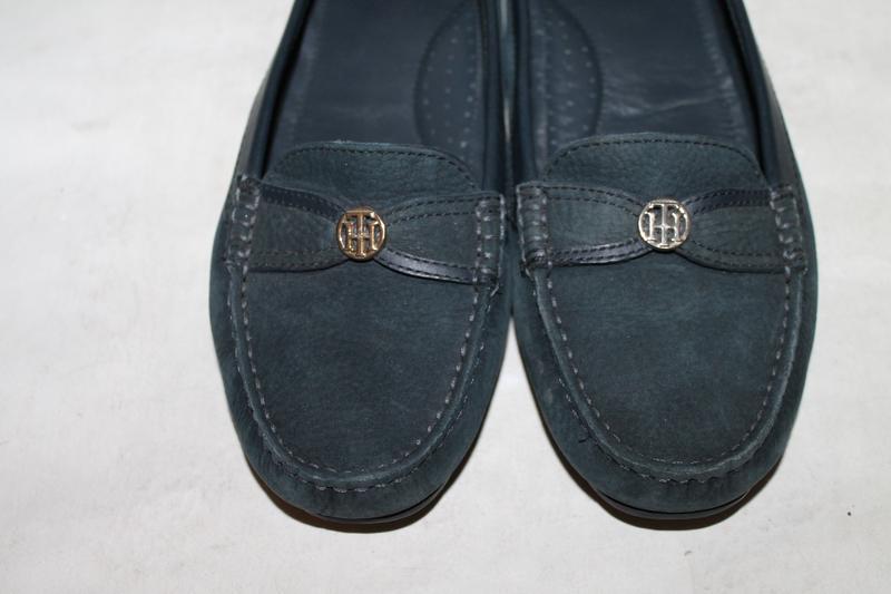 Кожаные туфли/мокасины tommy hilfiger 39 размер - Фото 3