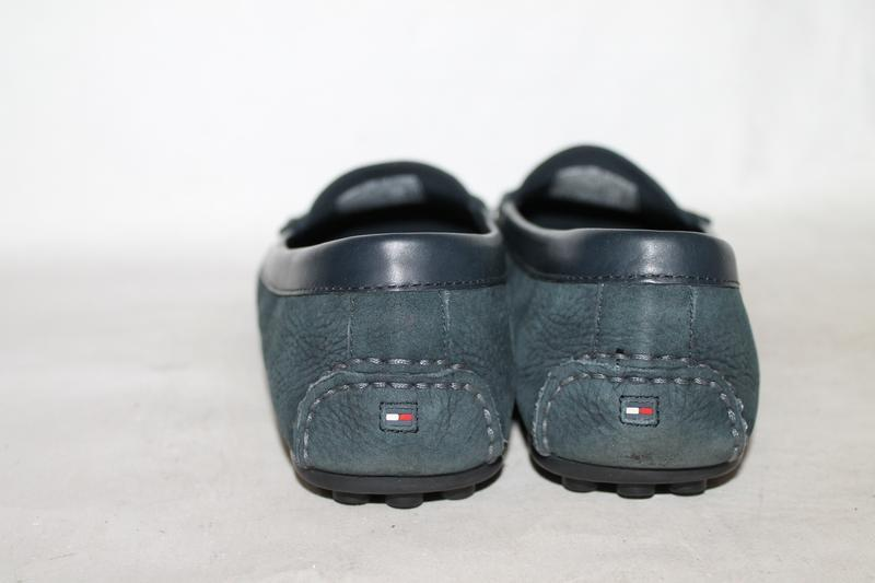 Кожаные туфли/мокасины tommy hilfiger 39 размер - Фото 4