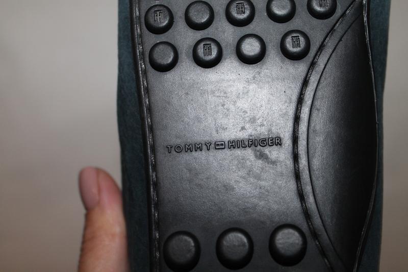 Кожаные туфли/мокасины tommy hilfiger 39 размер - Фото 8