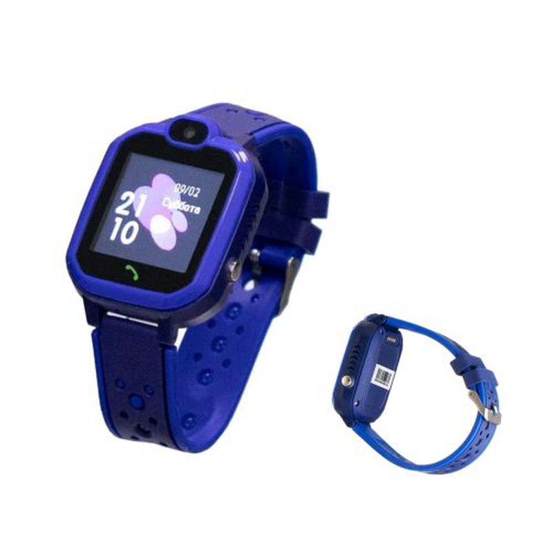 Детские часы SMART BABY WATCH Т16 (GPS) waterproof blue
