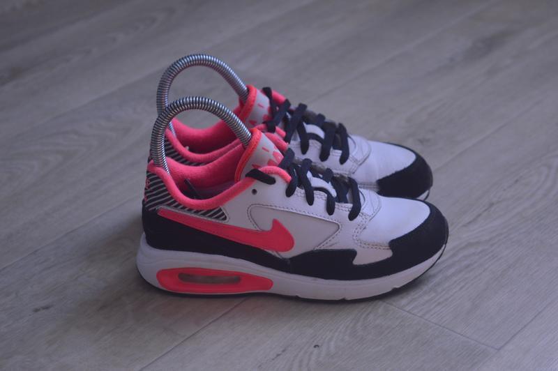 Nike air max детские кроссовки кожа оригинал осень