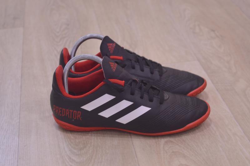 Adidas predator подростковые футбольные кроссовки футзалки
