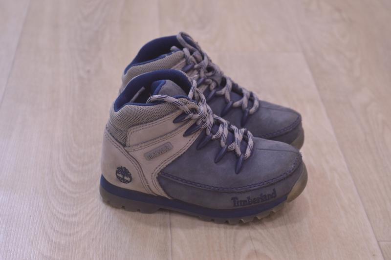 Timberland детские зимние ботинки кожа оригинал sale!