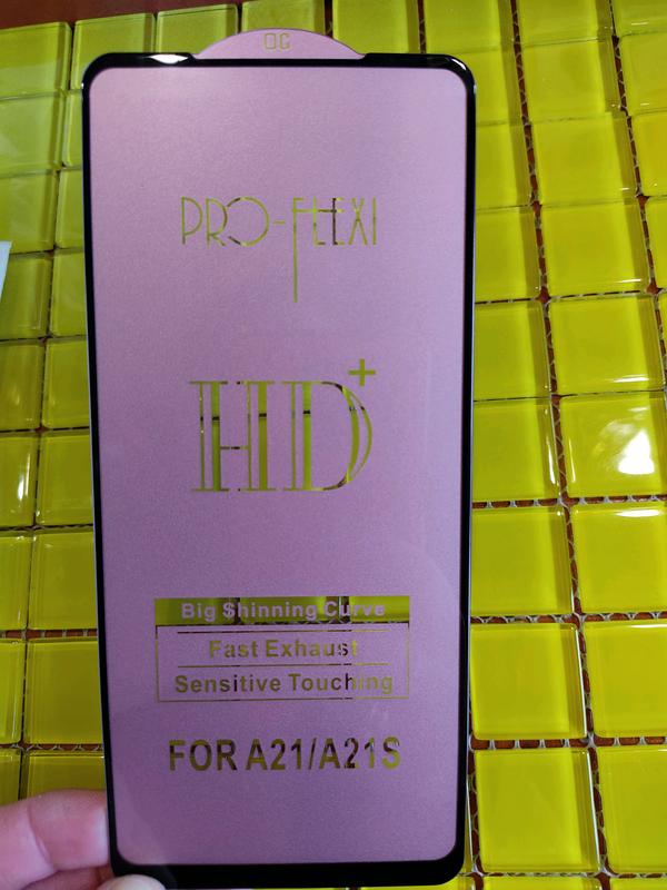 Samsung A21s Защитное стекло Захисне скло