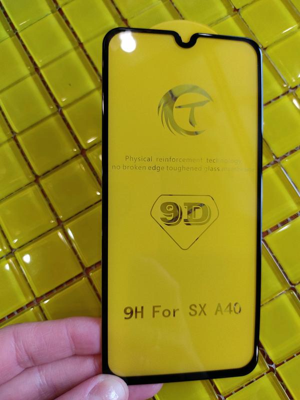 Samsung A40 Защитное стекло Захисне скло 9D