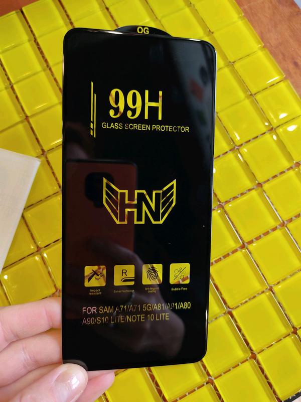 Samsung A71 Защитное стекло Захисне скло