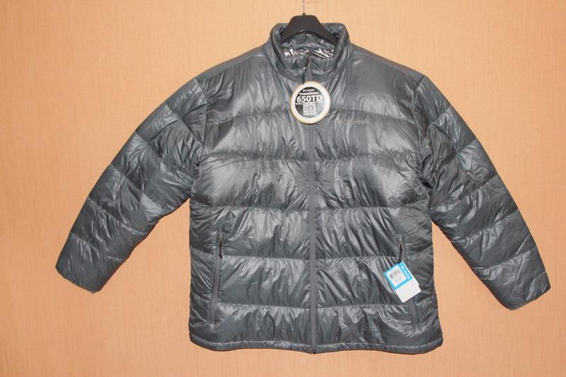 Мужская куртка пуховик columbia, размер xxl - Фото 2
