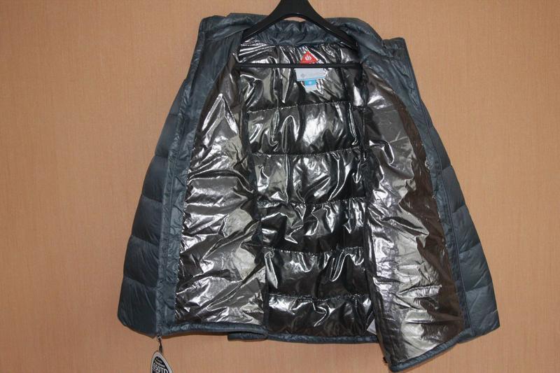 Мужская куртка пуховик columbia, размер xxl - Фото 4