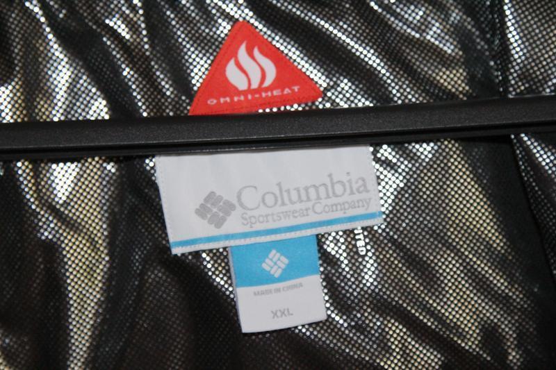 Мужская куртка пуховик columbia, размер xxl - Фото 5
